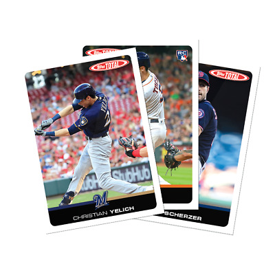 2019 Topps Total - Wave 6 YOU PICK CARDS YELICH LIST UPDATED PRICES LOWERED