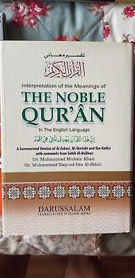 The Noble Quran Arabic Text with English Translation ( Darussalam )