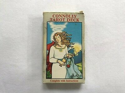 The Eileen Connolly Tarot Card Set Complete 78 Cards Beautiful Esoteric Original