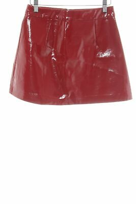 18d28b451123bf JUPE T40/42 NEUF plissée long cuir synthétique leather skirt uk14 ...