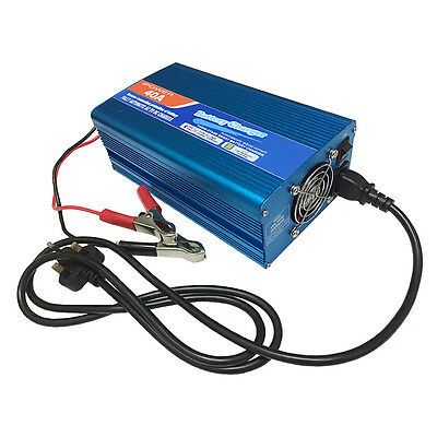 40A Quick charge 12v Leisure Battery Charger Caravan Campervan Motorhome Boat