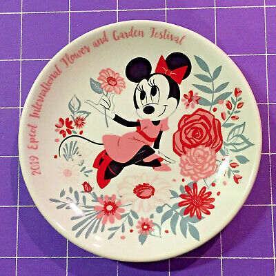 New 2019 Disney Epcot Flower and Garden Festival Minnie Happiness Blooms Plate