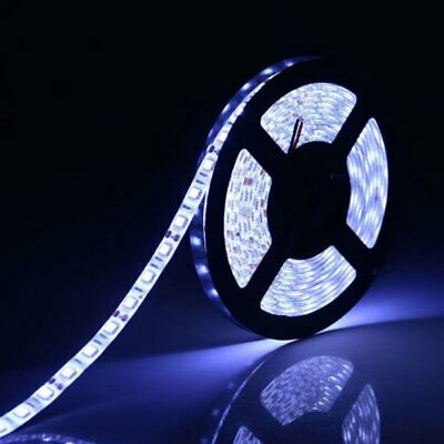 Super Bright Cool White 5M SMD 3528 300LEDs Led Flexible Strip Light Strips 12V