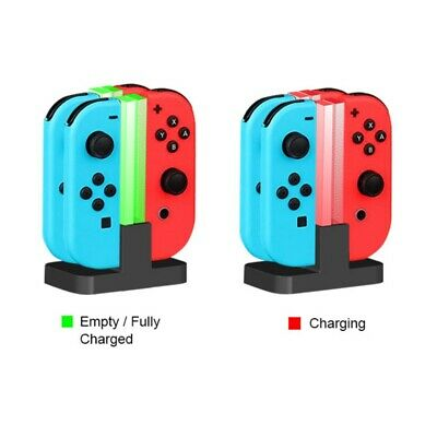 For Nintendo Switch Joy-Con Charging Dock Four-Seater Charger Stand Accessories