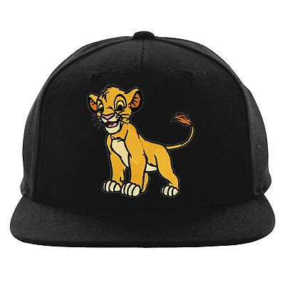 2778f95e4 OFFICIAL DISNEY THE Lion King - Simba Face Embroidered Black ...