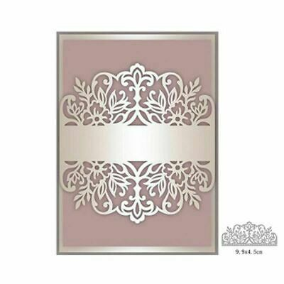 Lace Flower Cutting Dies Stencil Metal Scrapbooking Album Card Embossing Decor