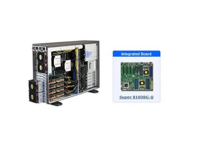 NEW* SUPERMICRO SYS-7048GR-TR 4U Server with X10DRG-Q