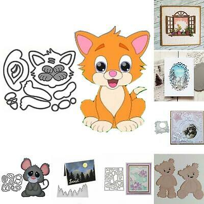 Metal Cutting Dies Stencil For DIY Scrapbooking Embossing Paper Card Decor Show