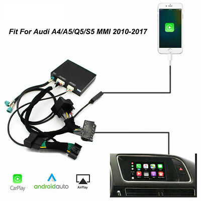 Fit For Audi A4 A5 Q5 MMI Wired CarPlay Android Auto Retrofit Box Kit