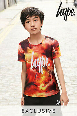 Hype Boys Printed T-shirt Top Age 13 Years BNWT