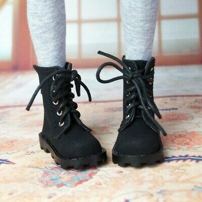 """1//6th Short Boots Shoes Synthetic Leather For 1//6 11/"""" 27 BJD doll AOD YOSD DOD"""