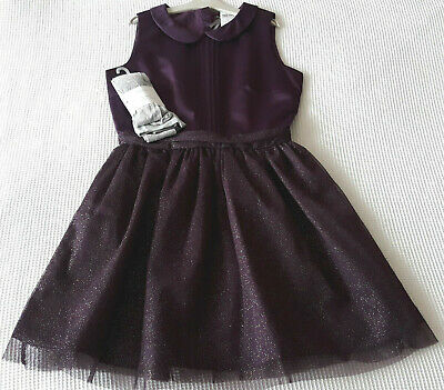 Next Girls Stunning Purple Special Occasion Dress Age 16 Years BNWT Tag £32