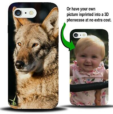 Personalised Red Wolf Phone Case Cover Wolfs Wolves Woods Animal Face Gift X892
