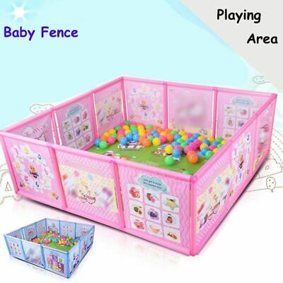 Baby Playpen Kids Fence Plastic Safety Pool Game Fence Crawling Safety Guardrail