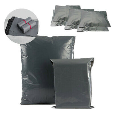 Small Medium Extra x Large Grey Parcel Mailing Bags Mail Postal Postage All Size