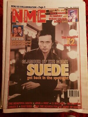 NEW MUSICAL EXPRESS NME - October 19 1996 - Suede / Kula Shaker / PJ Harvey