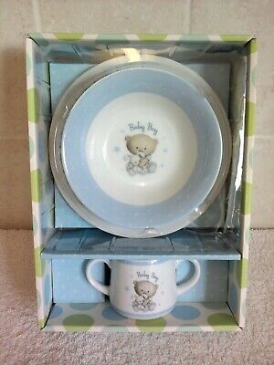 Baby Hugs Gift Set Plate Bowl And Cup