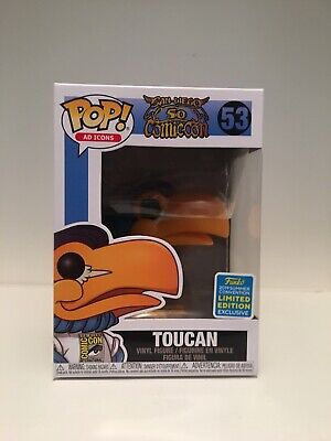 Funko Pop! Ad Icons Toucan SDCC 2019 Shared Funko Shop In Hand Ships Protected