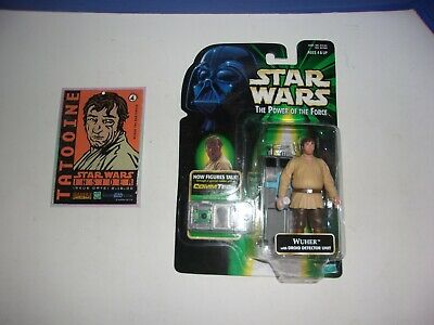Star Wars Galactic Heroes Cantina Bar Tender Wuher Rare Exclusive