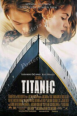 Titanic Movie Poster Glossy Finish - 24 x 36 Inches