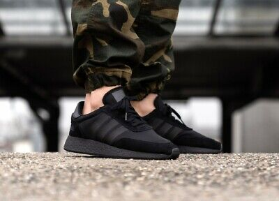 New Adidas Originals I-5923 Running Shoes Athletic Boost Blackout Triple Black