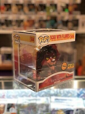 1 Box 0.50mm Thick Protector For Funko Pop! Scar Chase Thickest On The Market!