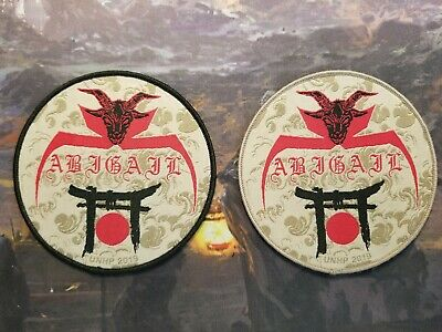 Abigail Black Thrash Patch Barbatos Sabbat Japan