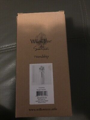NEW In Box Willow Tree Friendship