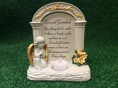 Grandad Archway To Heaven Grave Memorial Ornament, Graveside Remembrance Gift