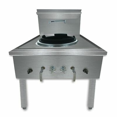 WW-1L Stainless Steel Waterless LPG Gas Single Wok