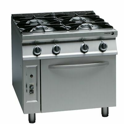 Fagor 900 Series Natural Gas 4 Burner CG9-41H