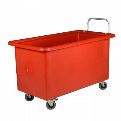 Wagen Mobile Tub 200L Red Handle