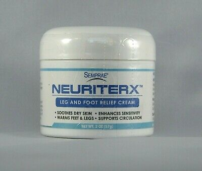 NeuriteRx Leg and Foot Relief Cream, Soothes and Moisturizes Dry Skin, Warms Leg
