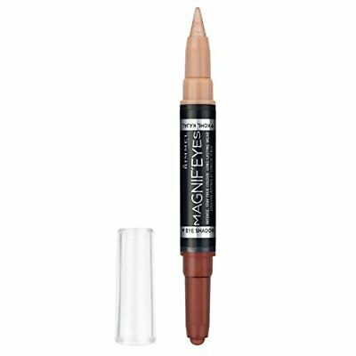 Rimmel London MagnifEyes Double Ended Eyeshadow and Liner 3, Queens of a Bronze