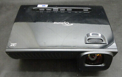 Optoma EX525ST Short Throw DLP Projector Lamp 315 hrs Works - but snowy image