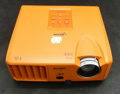 Sharp Notevision PG-F150X DLP Projector - Projects Excellent Image Lamp 537 hrs