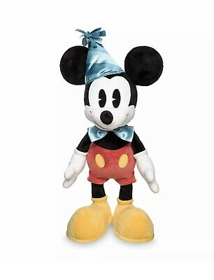 "2019 Disney Parks Mickey Mouse 90th Birthday 24"" Cute Plush Toy Doll New NWTs"