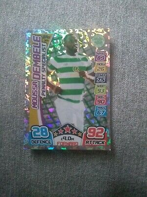 Match Attax Spfl 2017-2018 Celtic Fc Moussa Dembele Penalty Specialist
