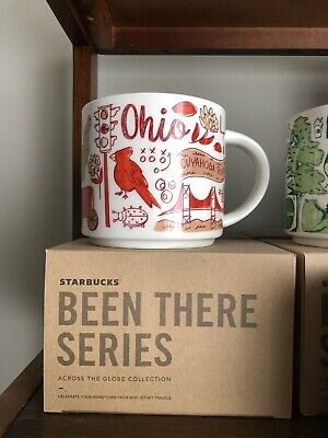 Starbucks Coffee Mug Been There Series Across The Globe Collection Ohio