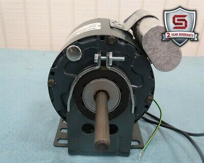 Genteq 5KCP29CK8465AS Motor 1/15HP 1100/940RPM 1PH 480VAC 0.22A 60/50Hz