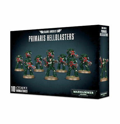 Games Workshop Warhammer 40K Space Marine Dark Angels Primaris Hellblasters