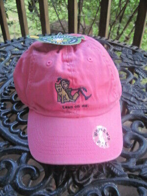 LIFE IS GOOD Women's Hot Pink Chill Cap / Hat Sketched Sandals - NWT