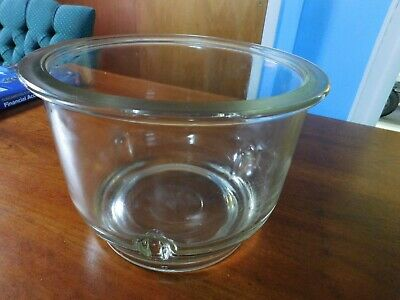 Pyrex Heavy Duty Glass 5.8L Vacuum Desiccator Bowl Used by Bristol-Myers