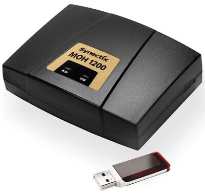Music On-Hold 1200 MP3 with USB Drive (MOH-1200) - USB