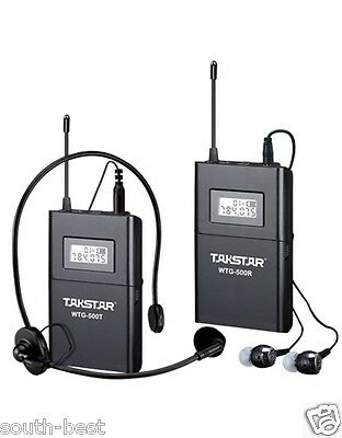 Wireless Tour Guide Simultaneous Translation Audio-visual eduation Mic System