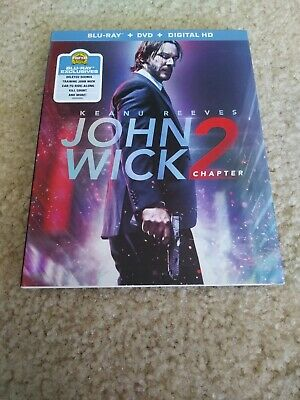 John Wick Chapter 2 Blu Ray Slipcover / Sleeve ONLY - great condition!!