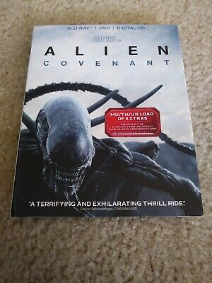 Alien: Covenant Blu Ray Slipcover / Sleeve ONLY - great condition!!
