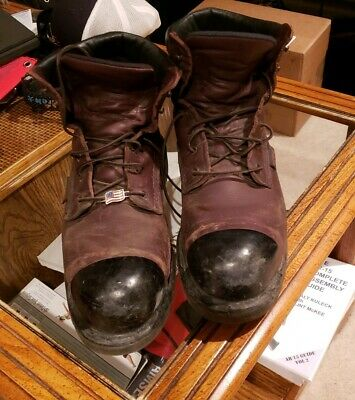 9a7b8117953 RED WING BOOTS 2406 Steel Toe Size 11.5 made in USA Very nice ...