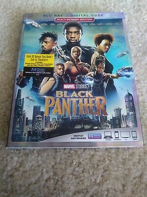 Black Panther Blu Ray Slipcover / Sleeve ONLY – great condition!!