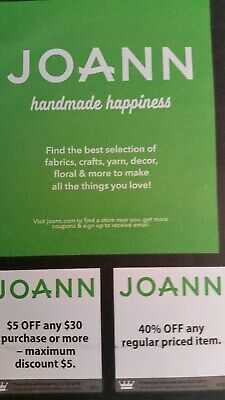 joanne fabrics coupons ....... Expire December 31, 2019